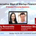 Alternative Ways of Startup Financing (IP-Backed Financing Solutions…)